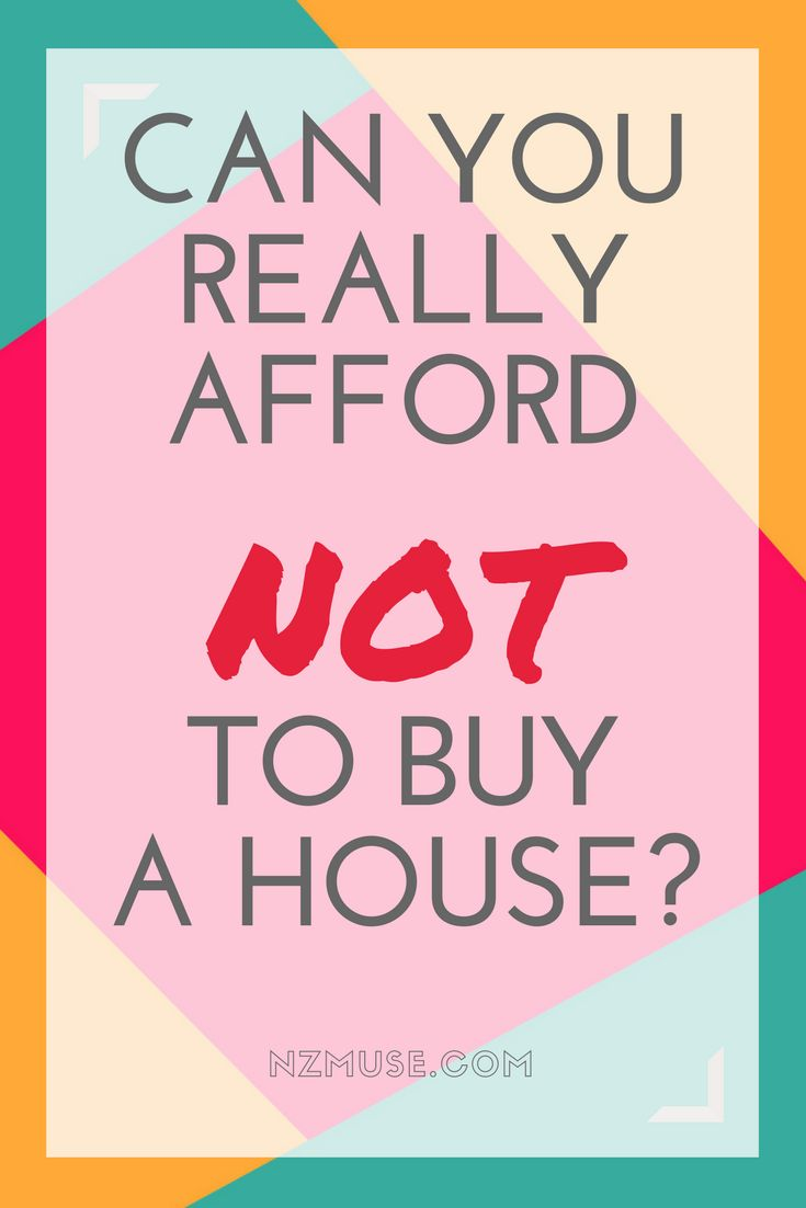Can you really afford NOT to buy a house? A reality check.
