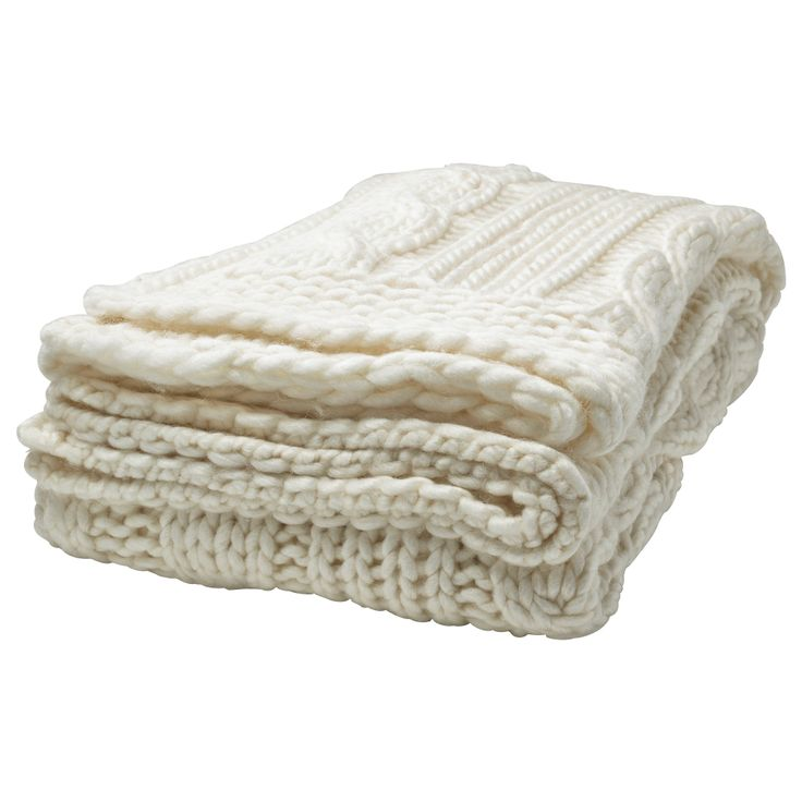 A soft and cozy couch throw in a neutral color? Done!  ANNBRITT Throw - IKEA $29.99