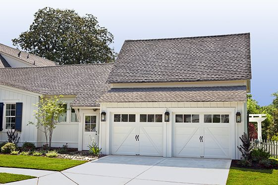 60 best steel carriage house garage doors images on for Farmhouse garage doors