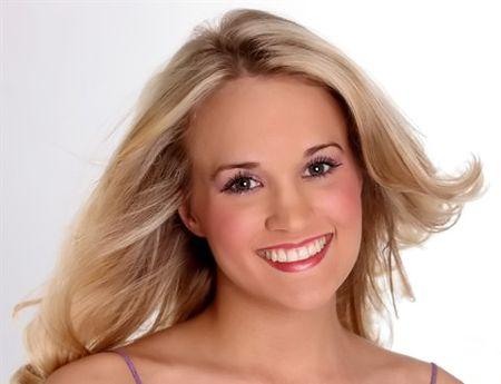 Carrie Underwood No Makeup   Carrie Underwood Wins American Idol