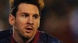 Lionel Messi of Barcelona sets new goal-scoring record