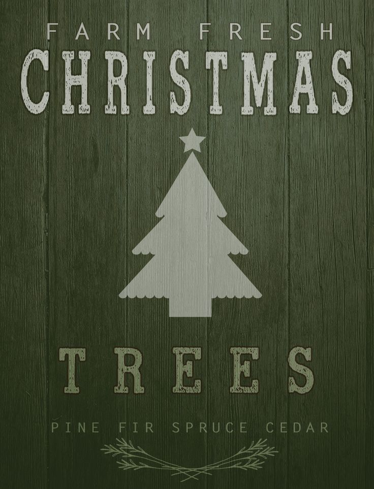 I have another Christmas pallet sign printable for you guys today. This one was inspired by a cute sign I saw and you know how I love pretty much anything with the word FARM in it! Hope you like it...