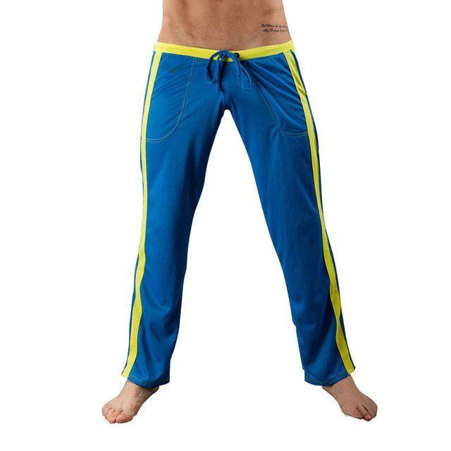 Professional Yoga Pants For Men Sports Sweatpants Breathable Loose Yoga Training Sportswear Brand Clothes Plus Size HS