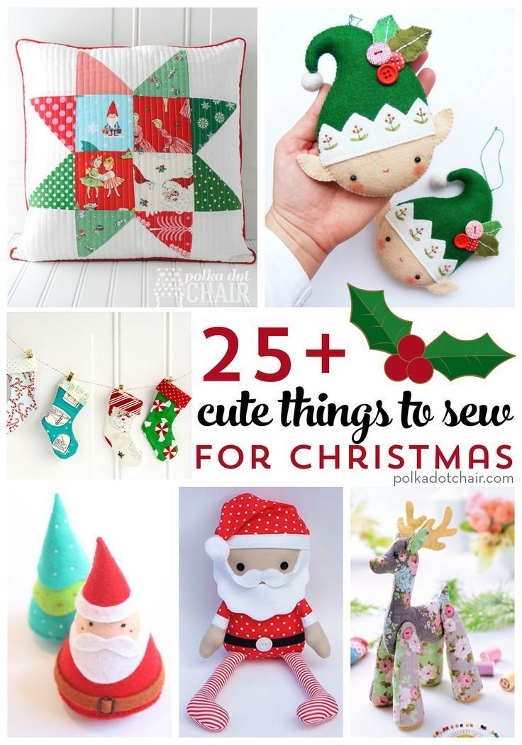 Cute Things To Sew For Christmas