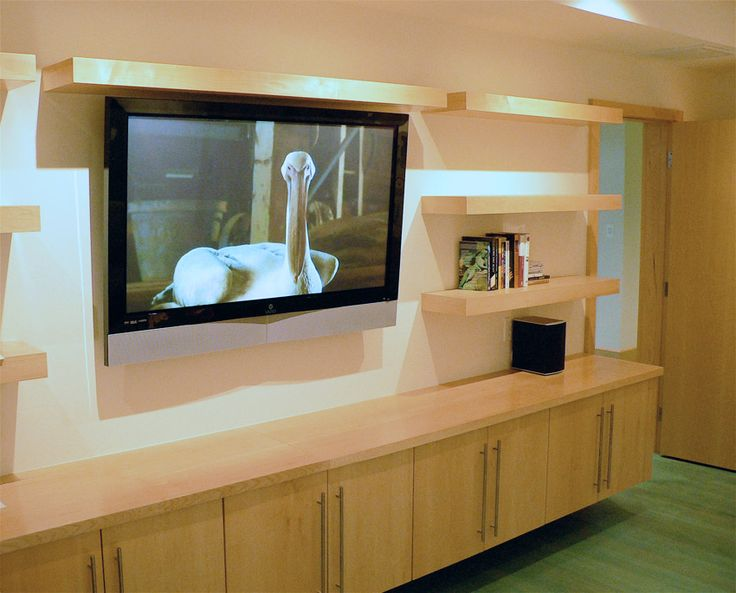 22 best images about floating wall units on pinterest for Tv shelving wall units