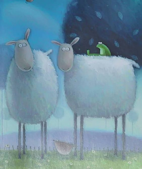 овца и мышь картинки жирные волосы хотят