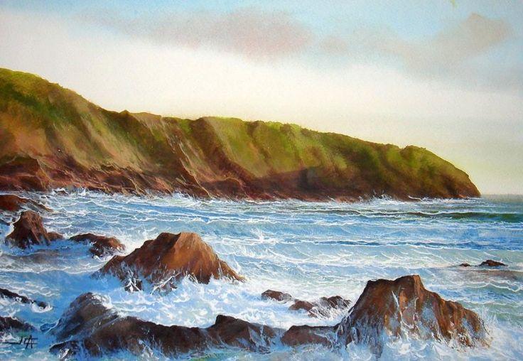 - ART - MARINE on Pinterest | Paisajes, Pintura and Ocean Paintings