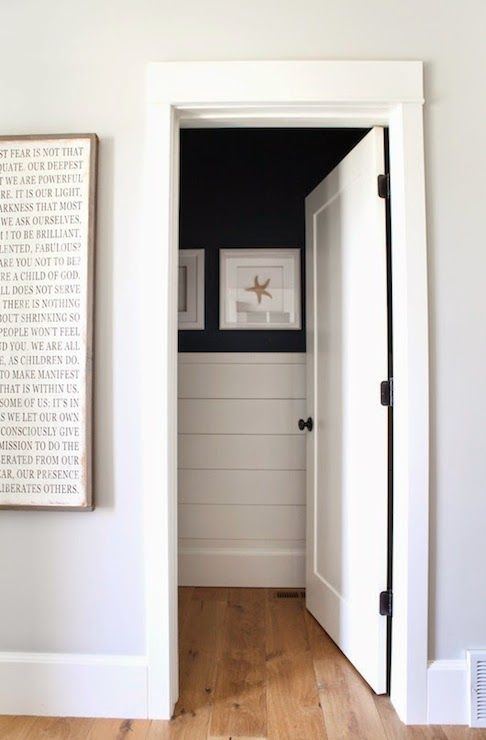 shiplap half wall long meadow pinterest powder tongue and groove and wall art quotes. Black Bedroom Furniture Sets. Home Design Ideas
