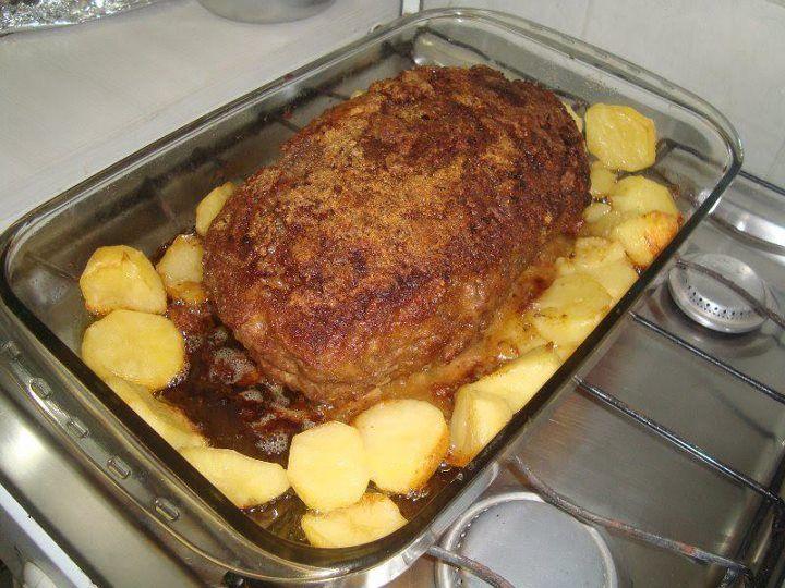 Bolão de Carne Moída com Batata no dia 21/08/2012