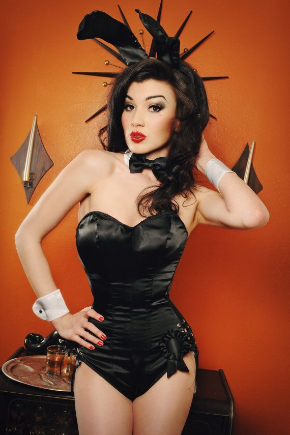 Girl busty pinup bunnies need more