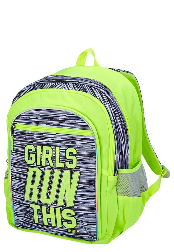 Neon Space Dye Backpack (original price, $29.50) available at #Justice