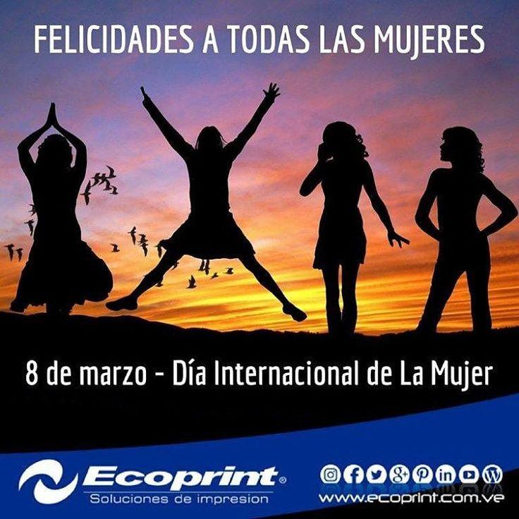 Feliz día para todas las mujeres.  #Venezuela también tiene nombre de #mujer!  #ecoprint #cartuchos #color #negro #impresora #tinta #tóner #rendimiento #imagen #calidad #economía #ecología #tecnología #compatible #genérico #impresión #venezuela  #islamargarita #islademargarita
