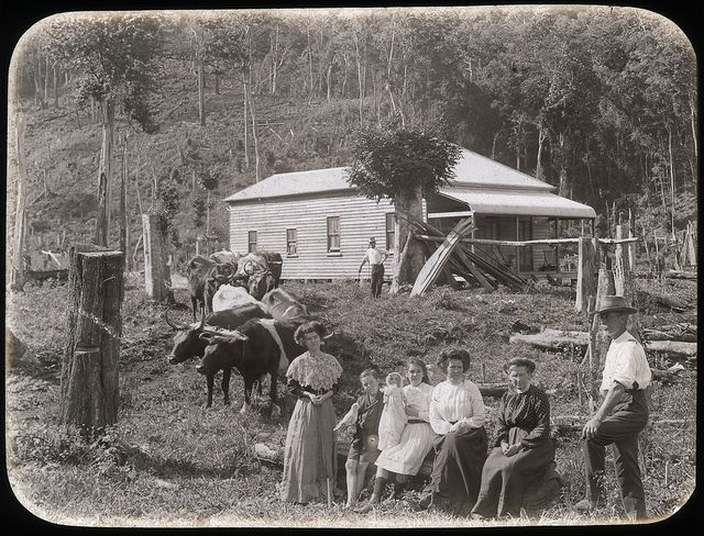 An early settler's home in country , N.S.W. Australia. Growing up in Australia. Read the Source for more info.