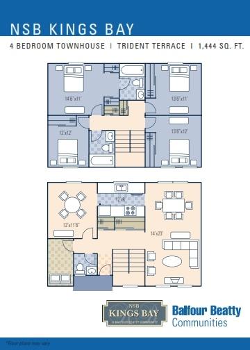 Nsb Kings Bay Trident Terrace Neighborhood 4 Bedroom
