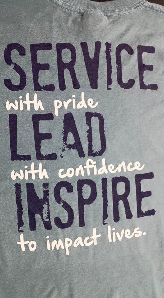 Loving these shirts!  leadership shirts #screenprinting #ndesigns #design