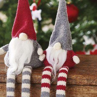 Super-cute Scandi Christmas gnomes - amigurumi pattern on Ravelry!