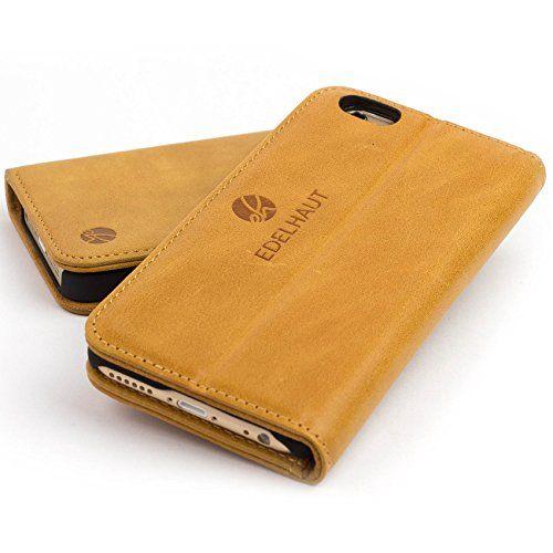 EDELHAUT Handytasche mit unsichtbarem Magnetverschluss in braun für Apple iPhone 6 und 6S 4.7 aus echtem Leder EDELHAUT http://www.amazon.de/dp/B013PKXABC/ref=cm_sw_r_pi_dp_Qzgrwb1N9ECKY