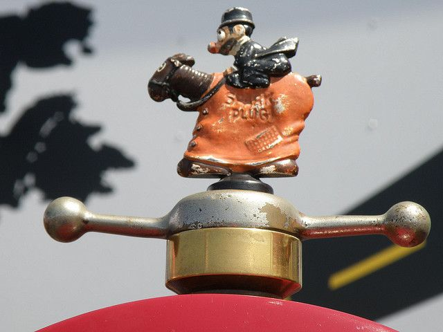 Ford Special racecar hood ornament | Flickr - Photo lol :)
