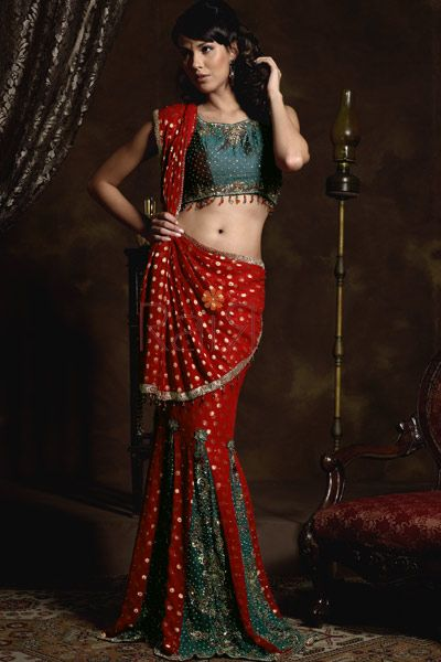 Draping #saree the lehenga style. #Sari #Traditional #indianWear #Modern
