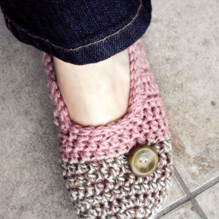 Very Easy Crochet Slippers | The life of a crochet designer: Cakewalk Slippers