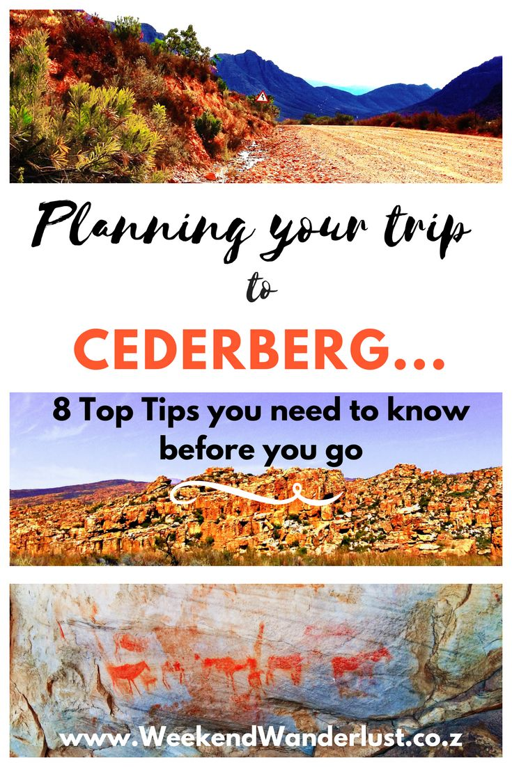 top tips when it comes to planning your trip to the Cederberg in South Africa