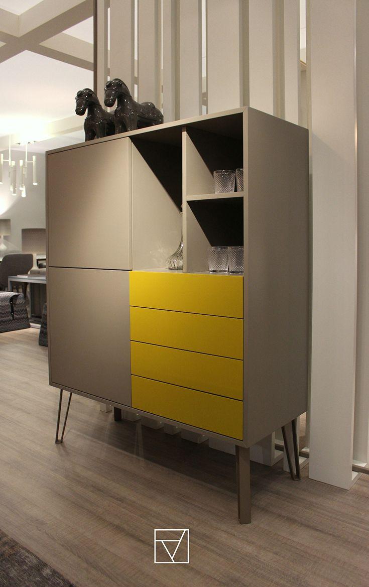Bar cabinet - Bristol collection