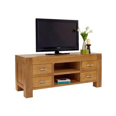 Octave Solid Oak TV Cabinet | Notation Furniture