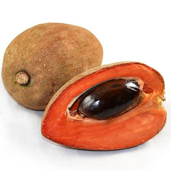 Santa Domingo Şeftalisi-Mamey Anavatanı Güney Amerika olan Mamey meyvesinin her mevsim yeşil kalan bir ağacı vardır. Mango ve şeftali karışımı bir tadı ve güzel kokusu olan meyve tek çekirdeklidir.