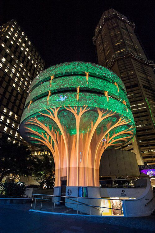 Downtown Sydney Transformed by Light for 'Vivid Sydney'