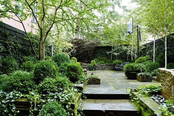 Townhouse Garden on West 11th Street