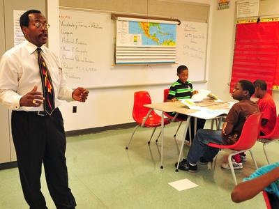 Why we need more black male teachers now. Kwame Griffith.