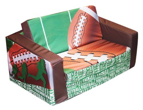 Sofa Tables Best price on Newco Kids Football yard Line Kids Flip Sofa See details here