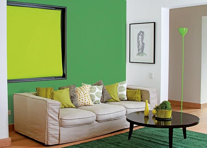 Combinación monocromática: Consigue un ambiente simple y armónico con colores de diferentes matices #Pintura