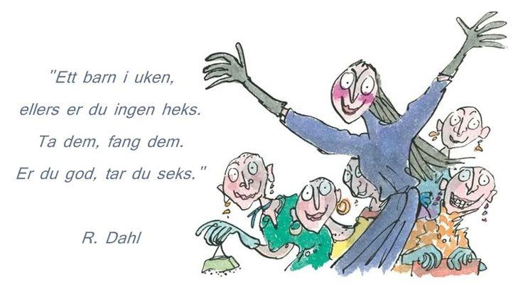 """Roald Dahl """"Heksene"""""""
