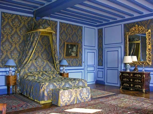 Château de la Barre~ Chambre Marin de Vanssay
