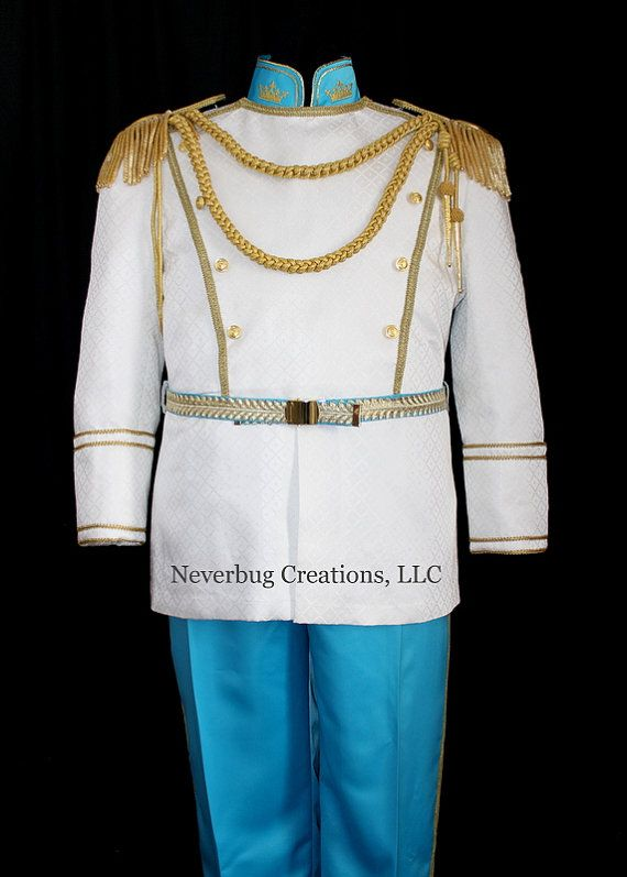 Cinderella Prince Costume by NeverbugCreations on Etsy