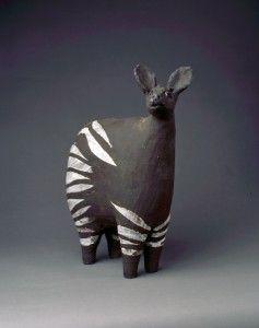 Charlotte POULSEN Okapi 1,h 32cm