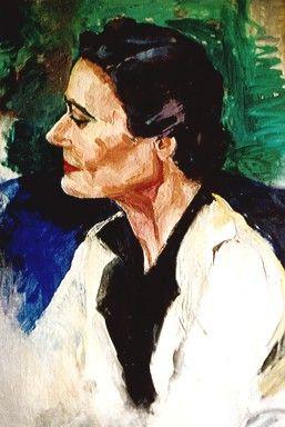 Lina Bryans, (1909-2000), portrait of Barbara Falk,1961.