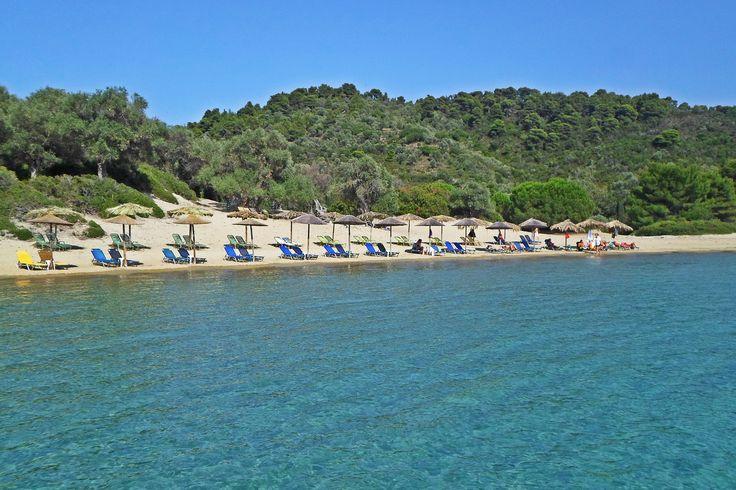 #beach #sun #bluesky #summer #saltywater #clearwater #island #greece #travel