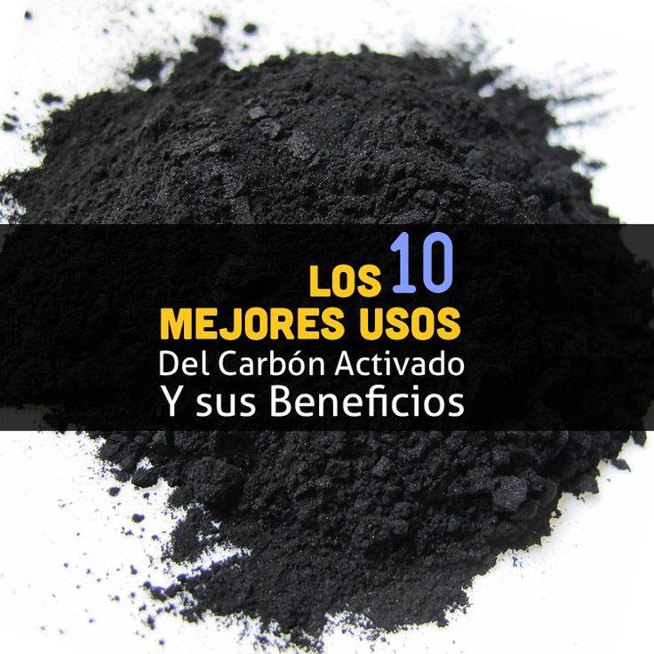 El carbón activado puede ser usado como un tratamiento natural para eliminar toxinas y químicos en tu cuerpo, sin reabsorberlos nuevamente.