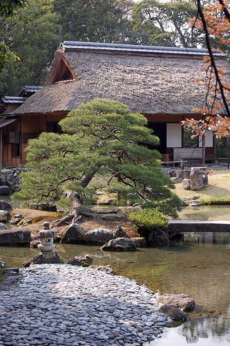 Katsura Imperial Villa one of three Imperial Villas of Kyoto and known for its…
