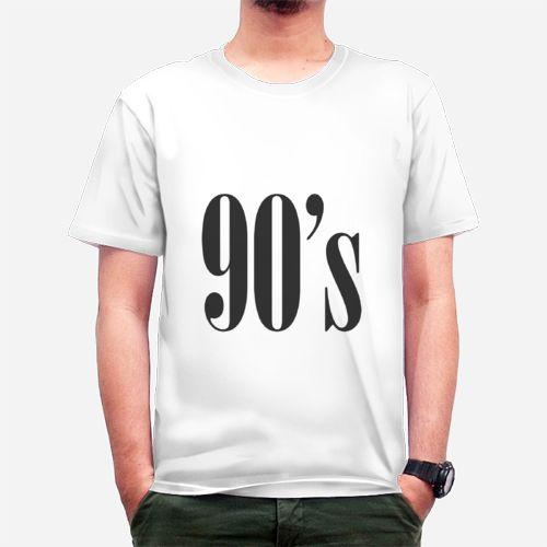 Hidup Taun 90an dari Tees.co.id oleh White Lies