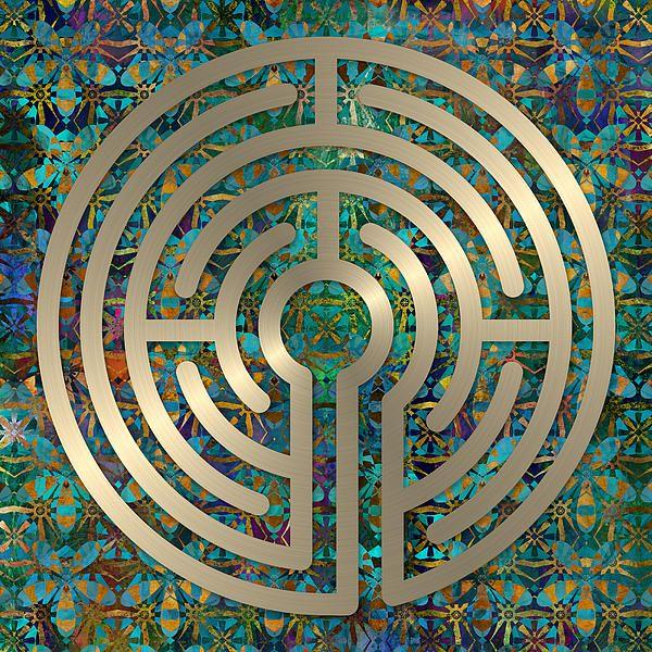 Labyrinth Art - A 5 circuit labyrinth