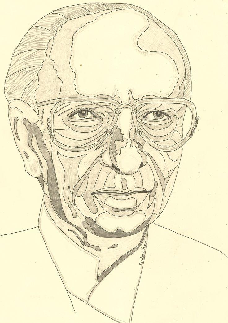 Music director JAYDEV Person sketch, Sketches, Male sketch