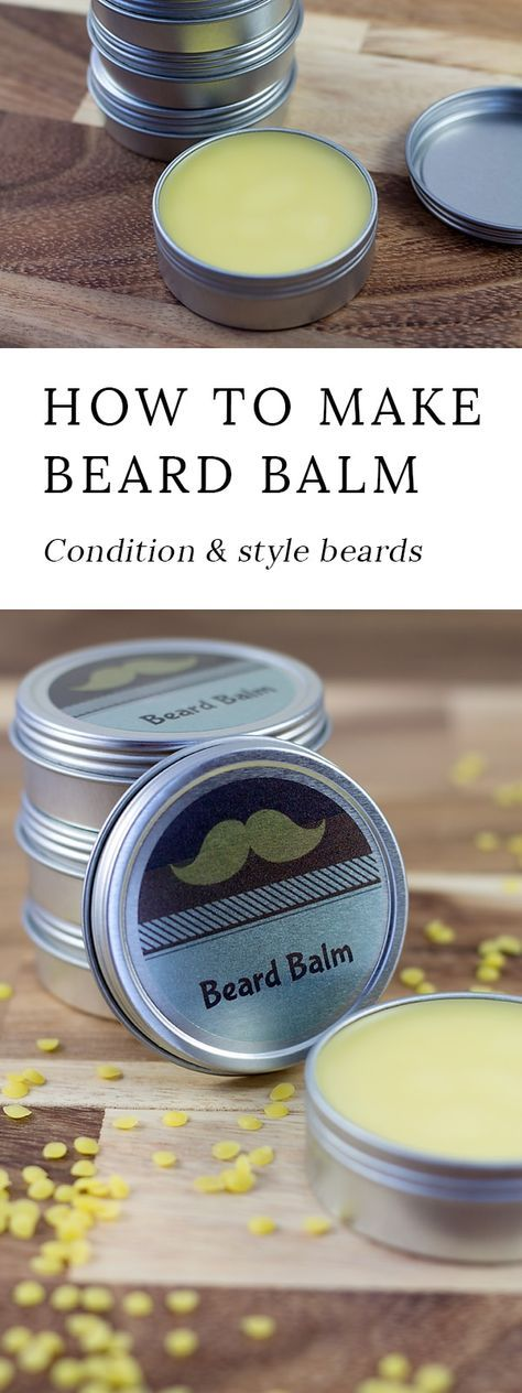 Cedarwood Beard Balm is an easy and thoughtful DIY gift for him that helps keep beards soft and tame during the harsh winter months.  via @https://www.pinterest.com/fireflymudpie/