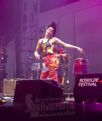 Recuerdos del Roskilde Festival 2011, Dinamarca, con #LaMakinaDelKaribe