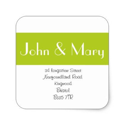 Elegant Change of Address sticker or address label - elegant gifts gift ideas custom presents