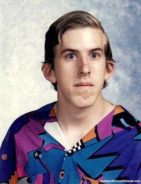 too funny... awkward yearbook pictures