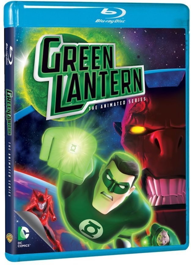 Green Lantern: The Complete Animated Series Coming to Blu-ray