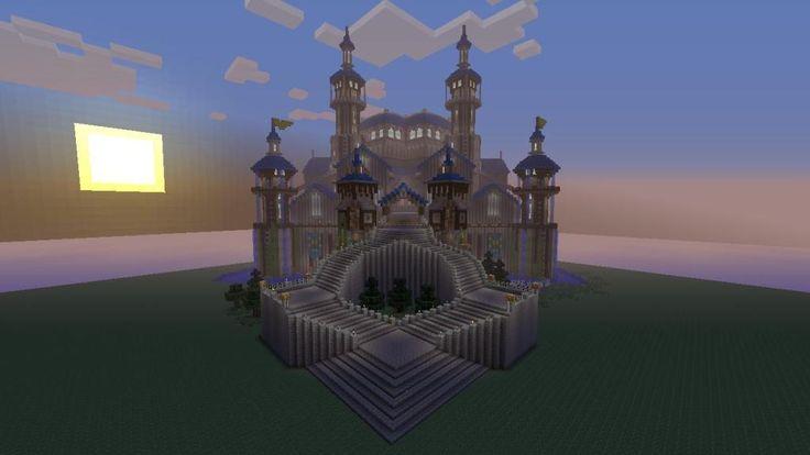 miecraft castel | My Xbox 360 Minecraft Castle.